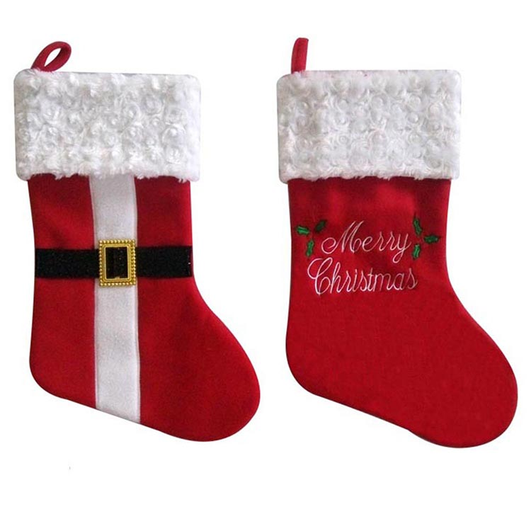 Christmas Personalized Red White Fancy Christmas Stocking Sock Buy Christmas Stockings Christmas Sock Personalized Christmas Stocking Product On