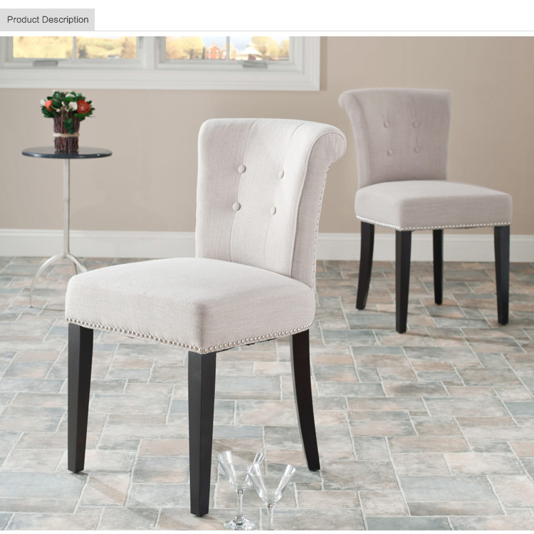 Modern White Fabric Dining Chairs For Dining Room Furniture - Buy Elegant  Simple Modern Fabric Dining Chairs,White Fabric Dining Chairs,Dining Room  ...