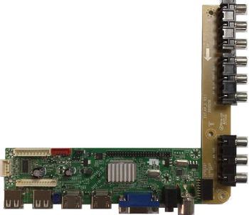 Abc Universal Lcd Tv Main Board Working With Samsung Lg Boe Panda Etc - Buy  Lcd Tv Control Board,Lcd Tv Control Board,Lcd Tv Inverter Board Product on