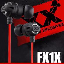 HA-FX1X Xtremed Xplosives In-Ear Headphones Deep bass Gaming Auriculares for SAMSUNG Xiaomi Mobile Phone Earphones Computer MP3