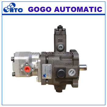 High and low pressure combination pump low pressure for Hydraulic pump motor combination
