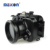 China Manufacturer Meikon 100m Aluminum case diving underwater camera housing for Sony RX100 IV