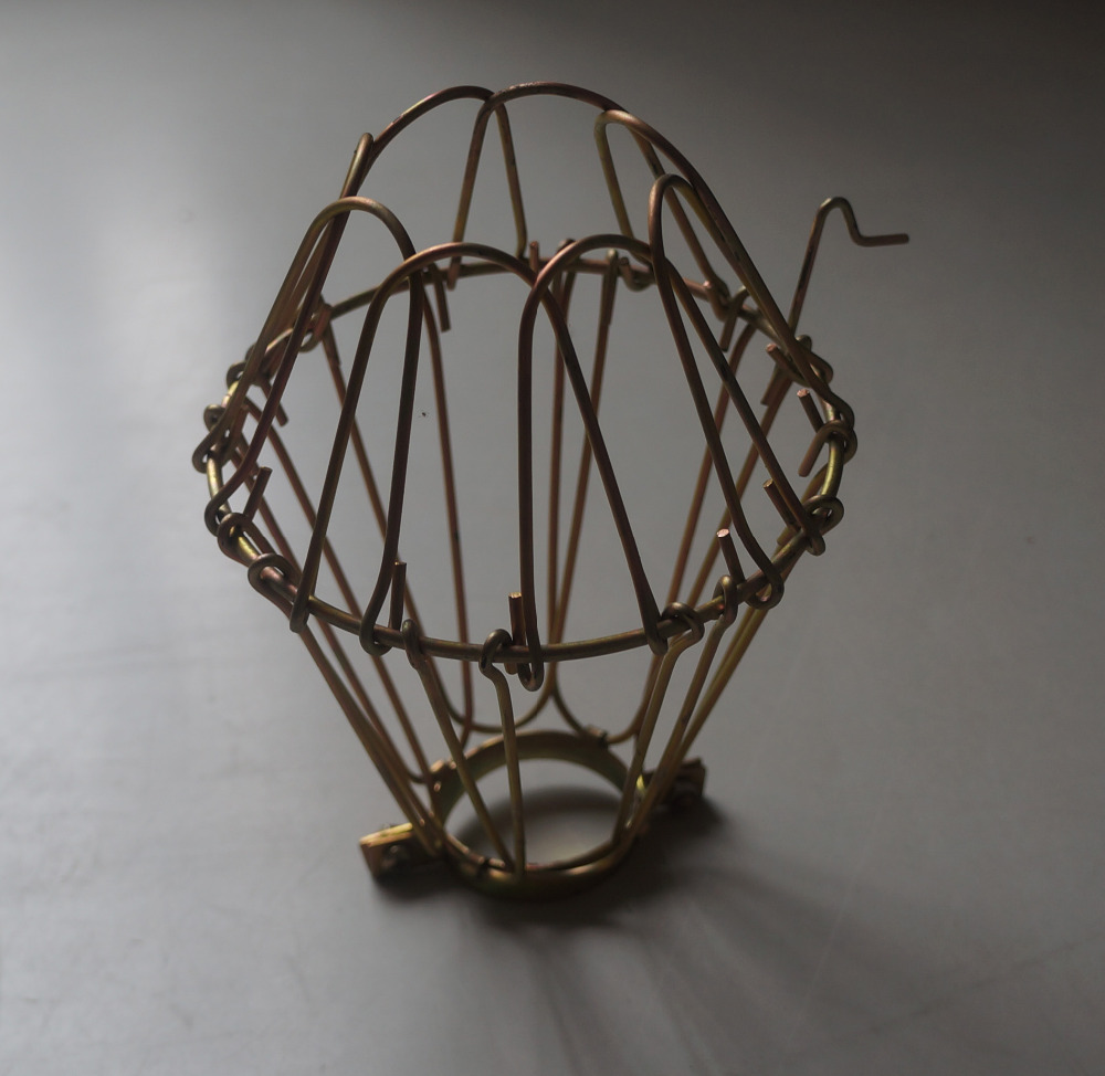 iron wire lamp cage lamp shades