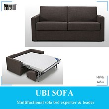 Luxury hotel two seater sofa bed livingroom furniture MY086 YARIS