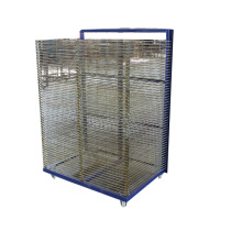 china hot sale silk screen drying racks/40 layer screen printing drying racks
