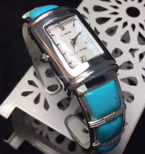 naturally sleeping beauty turquoise sterling silver watch bangle make wholesale