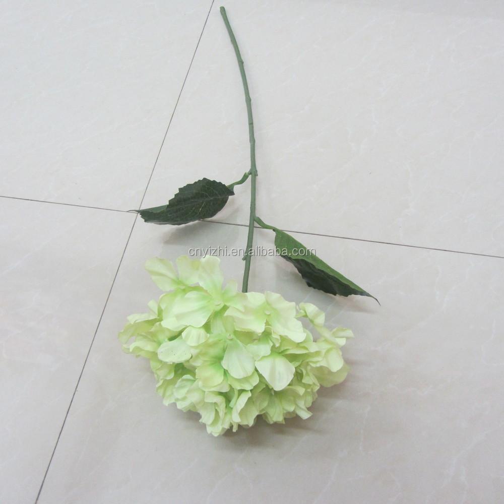 Cyan Handmade Craft Hydrangea Flower Wholesale Artificial ...