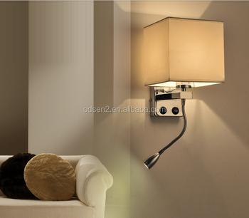 Modern Flexible Led Wall Mount Reading Lamp Snake Bedside Lamps