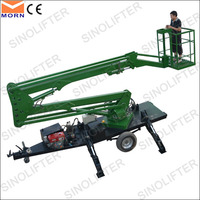 10m towable hydraulic air lift table