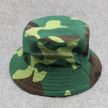 99b9a29d7b1 Men Fashion Streetwear Camo Bucket Hat