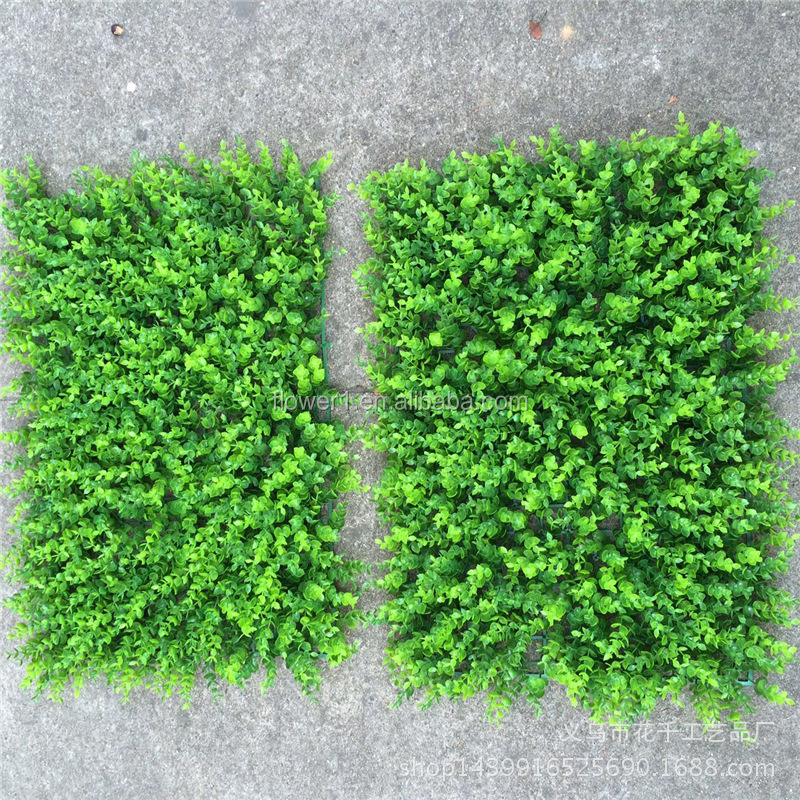 Flowerking brand artifical bermuda natural garden carpet grass mat decorative factory wholesale green turf artificial wall grass