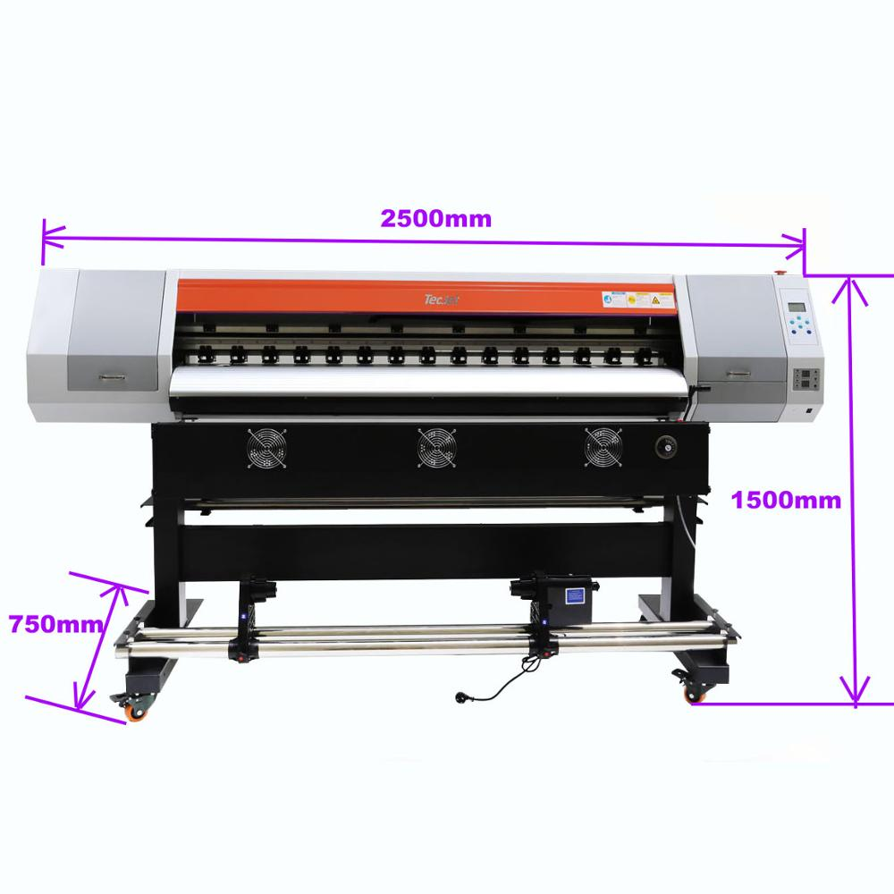 2 6m gongzheng thunderjet printer a 2602s a 2601s large outdoor inkjet vinyl sticker printing machine 1440dpi dx5 head