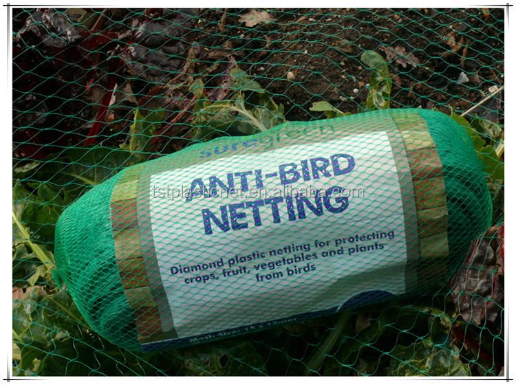 Fruit Vegetable Crop Protection Safety Netting Black Green or Blue Garden