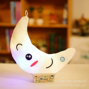 LED glowing plush toy moon valentine s day gifts for her