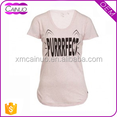 Ladies t-shirt in cheap rate customized print sale tshirts