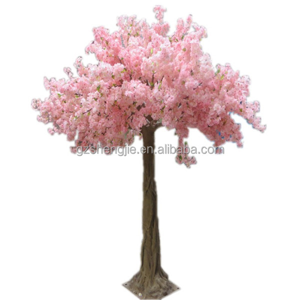Manufacturer Artifical Cherry blossom Tree Artificial Pink Tree for decoration
