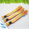 2016*One-off polyester woven wristband for festival EVENT