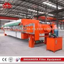 Effective Sludge Dewatering Machine with Automatic Plate Shifting to Reduce Labor Cost