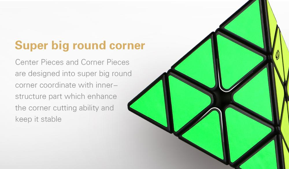 Qiyi Mofangge Magnet Pyramid magic puzzle cube