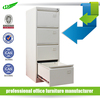 KD Grey colour lockable A4 files metal storage drawer cabinet
