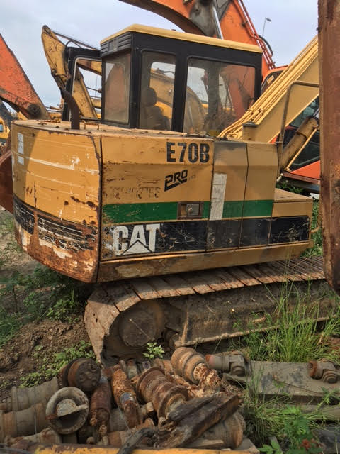 CAT E70B E110BE120B E200B MS120 MS180 Verwendet bagger