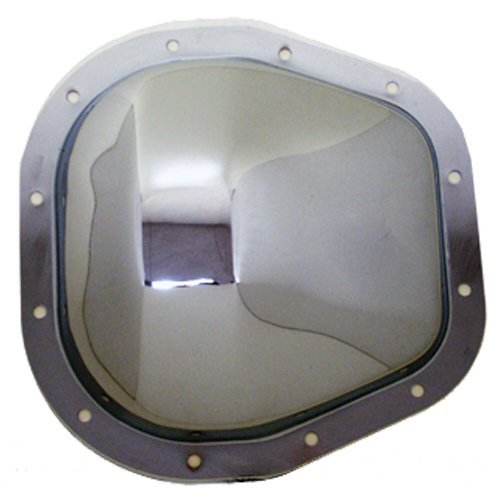"""1986-UP Ford Sterling (F-250-F-350-Excursion) Chrome Steel Rear Differential Cover - 12 Bolt w/ 10.5"""" Ring Gear"""
