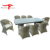 Outdoor Patio Furniture Rattan Sofa Dining Table Chair Set