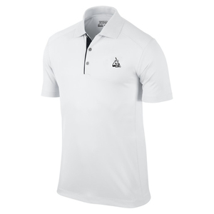 Print Logo Men's Short-Sleeve Polo Shirt Work Clothes