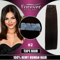 Large Stock Top Quality 30 inch Virgin Hair remy russian hair double drawn tape virgin hair extensions