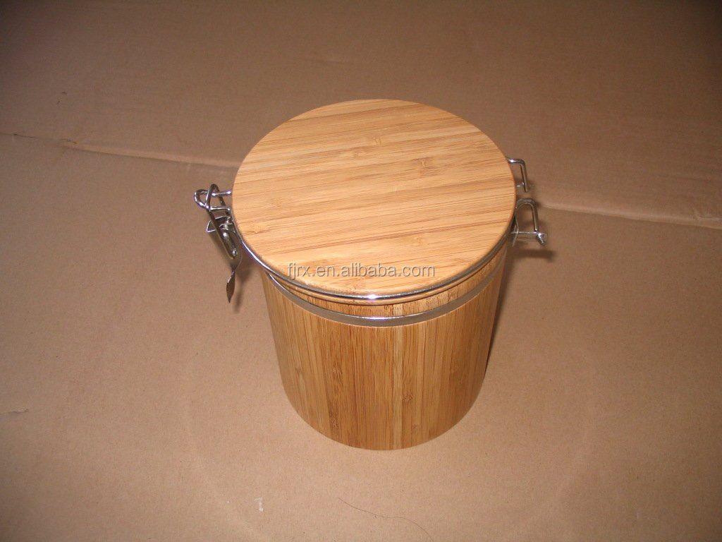 bamboo container,wooden crafts