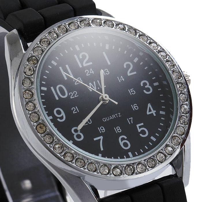 Candy Ladies Quartz Watch with Round Dial Rubber Kid Watches Children Silicone Wristwatches Brand Quartz Fashion Relogio watch