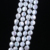 11-12mm coin pearl Wholesale white freshwater strand