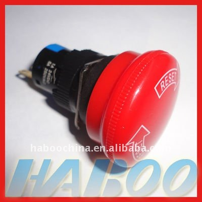 16mm emergency stop pushbutton switch