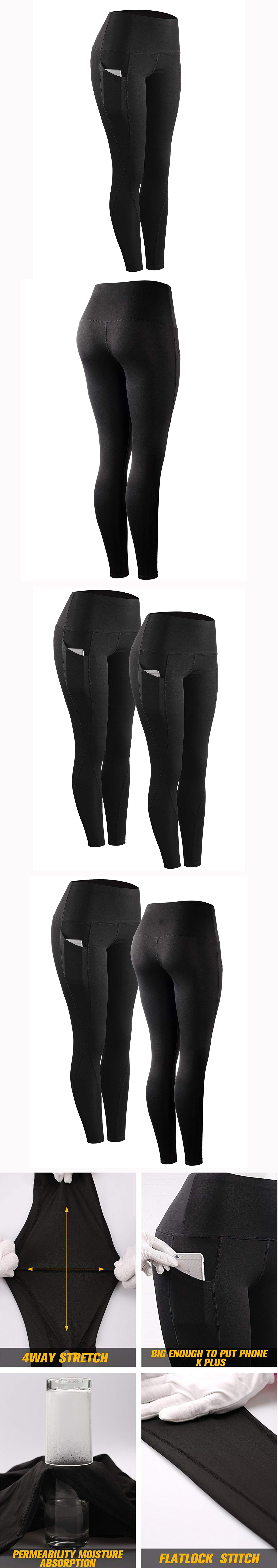 Wholesale Design Yoga PantsYour Own Oem  Printed Private Label Custom Logo High Waist Leggings