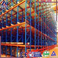 Big warehouse pallet flow roller racking system