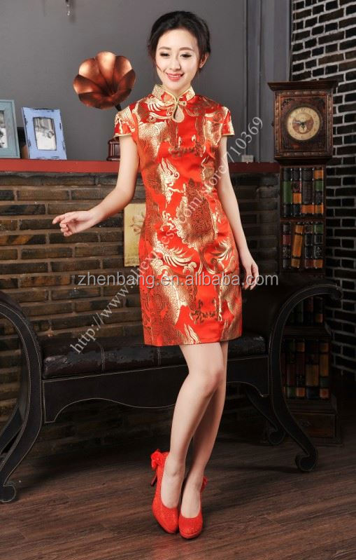 2015 Fashion Hot Sell cheongsam dress