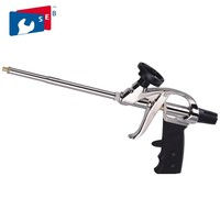 Hand Building Construction Tools Teflon Coated Spray Polyurethane Foam Gun