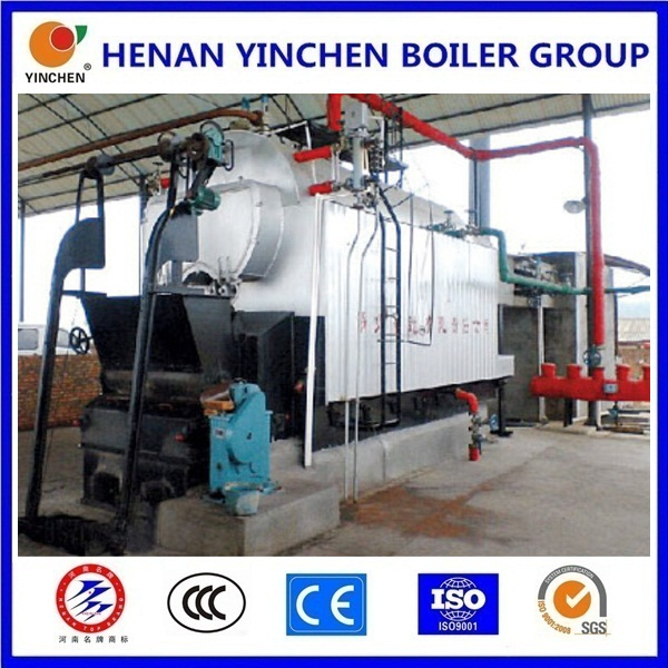 Screw pipe 3 pass 1-30t/h biomass pellet corn straw fired corn cob fired boilers steam boiler