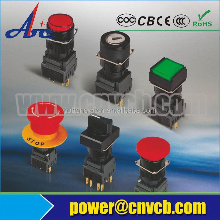 heavy duty push doorbell button circuit breaker switches