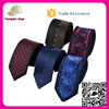 wholesale Customized Company Logo Men's neck tie Skinny italian Silk fancy elegant ties