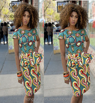 afrikaanse jurken patronen