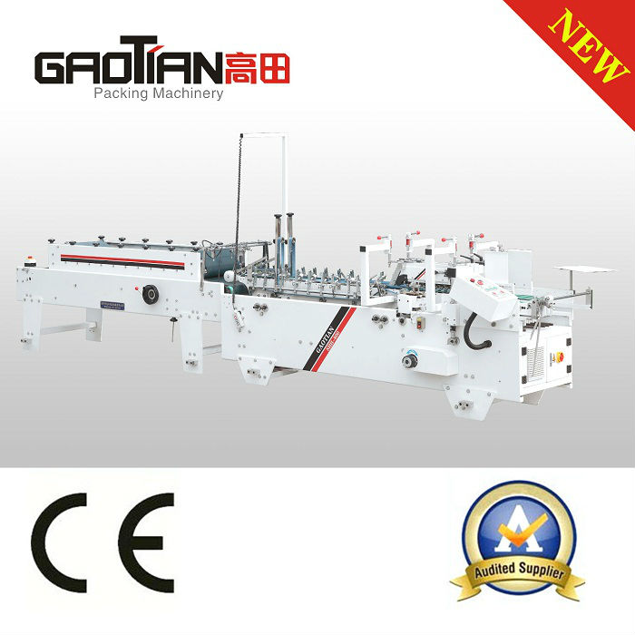 fully auto pvc pet pp plastic box folder gluer