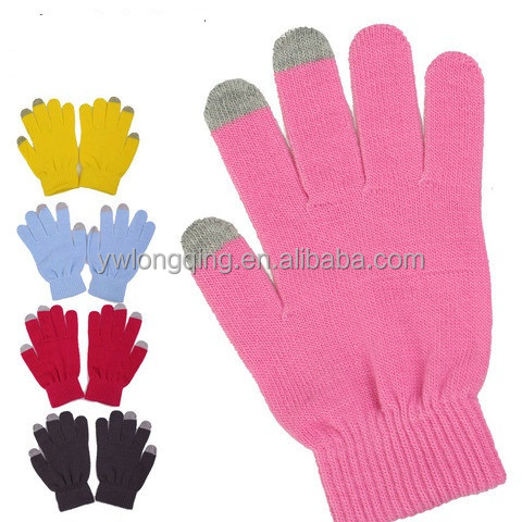 2016 Smartphone touch gloves, finger touch screen gloves, gloves for touch phones