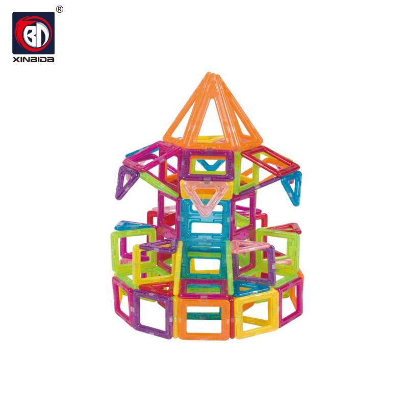 Brinquedo educativo infantil bonito jogo de quebra-cabeça plástico ímã mágico cubo