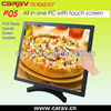restaurant equipment 17inch pos touch monitor,pos printer,barcode scanner ect