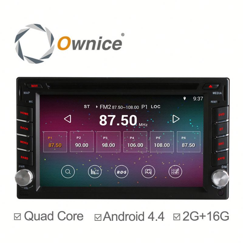 2G Ram Wholesale price quad core Android 4.4 & Android 5.1 double 2 din universal Car radio GPS built in wifi