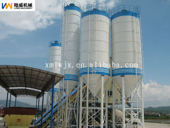Steel Silo Used In The Cement Plant And Concrete Batching Plant