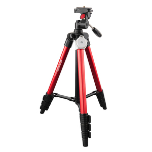 New products 1215 extended length 4 sections 1/4 screw professional universal video tripod