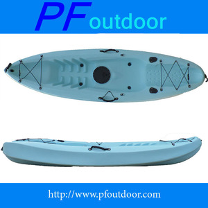 new style LLDPE ocean no inflatable professional sit on top kayak single fishing leisure kayak
