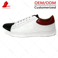 Suede leather boys stylish casual shoes